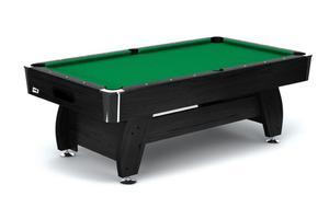 Stół bilardowy spływowy Vip Extra 7ft czarno - zielony Spensers - czarno - zielony - 2858111042