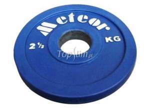Talerz olimpijski ogumowany Meteor (50 mm) 1,25kg - 1,25 kg - 2825620647