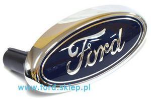 emblemat Ford Mondeo Mk3 - owal - przedni  - 2829827481