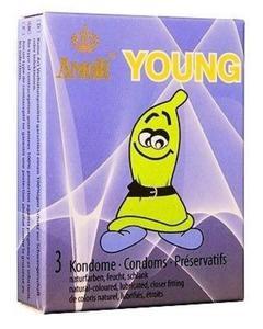 Amor Young - ściślejsze przyleganie (3 szt.) - 3 szt, - 2853354136