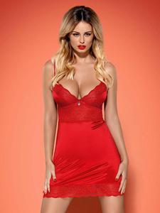 Obsessive Lovica koszulka i stringi czerwone  - 2857316904