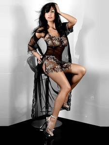 Livia Corsetti Hera Dressing Gown - niezwykle delikatny szlafroczek - Szlafrok - 2842689672