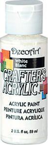 Farba akrylowa Crafter's Acrylic White biała 59ml DCA01 - 2850355319