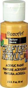 Farba akrylowa Crafter's Acrylic Yellow żółta 59ml DCA04 - 2850355322