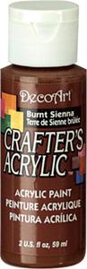Farba akrylowa Crafter's Acrylic Burnt Sienna siena palona 59ml DCA11 - 2850355326