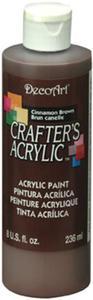 Farba akrylowa Crafter's Acrylic Cinnamon Brown brązowy 236ml DCA12 - 2850355327