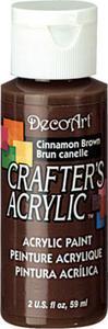 Farba akrylowa Crafter's Acrylic Cinnamon Brown brązowy 59ml DCA12 - 2850355328