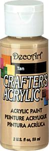 Farba akrylowa Crafter's Acrylic Tan ciemny beż 59ml DCA15 - 2850355330