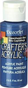 Farba akrylowa Crafter's Acrylic Copenhagen Blue niebieski 59ml DCA30 - 2850355340