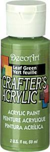 Farba akrylowa Crafter's Acrylic Leaf Green zieleń liści 59ml DCA36 - 2850355342