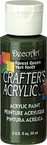 Farba akrylowa Crafter's Acrylic Forest Green leśna zieleń 59ml DCA39 - 2850355343