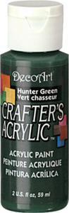 Farba akrylowa Crafter's Acrylic Hunter Green ciemna zieleń 59ml DCA41 - 2850355344