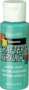 Farba akrylowa Crafter's Acrylic Turquoise turkus 59ml DCA42 - 2850355345