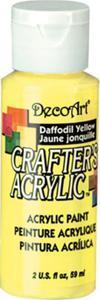 Farba akrylowa Crafter's Acrylic Daffodil Yellow jasnożółta 59ml DCA53 - 2850355350