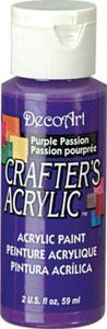 Farba akrylowa Crafter's Acrylic Purple Passion purpura 59ml DCA72 - 2850355352