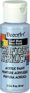 Farba akrylowa Crafter's Acrylic Cool Blue błękitny 59ml DCA76 - 2850355354