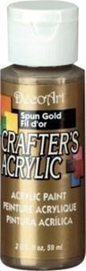 Farba akrylowa Crafter's Acrylic Spun Gold metalic stare złoto 59ml DCA96 - 2850355358