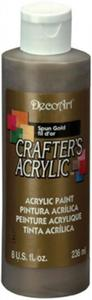 Farba akrylowa Crafter's Acrylic Spun Gold metalic stare złoto 236ml DCA96 - 2850355359