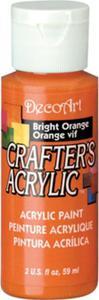 Farba akrylowa Crafter's Acrylic Bright Orange jasny pomarańcz 59ml DCA97 - 2850355360