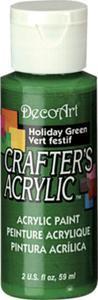 Farba akrylowa Crafter's Acrylic Holiday Green ładna zieleń 59ml DCA104 - 2850355367