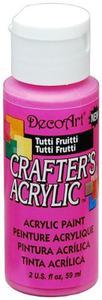 Farba akrylowa Crafter's Acrylic Tutti Fruitti różowa 59ml DCA120 - 2850355370