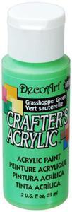 Farba akrylowa Crafter's Acrylic Grasshopper Green zieleń traw 59ml DCA125 - 2850355373