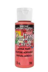 Farba akrylowa Crafter's Acrylic Bright Coral jasny koral 59ml DCA137 - 2850355379