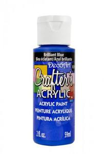 Farba akrylowa Crafter's Acrylic Brilliant Blue królewski błękit 59ml DCA141 - 2850355382