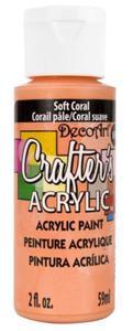 Farba akrylowa Crafter's Acrylic Soft Coral jasny koral 59ml DCA142 - 2850355383
