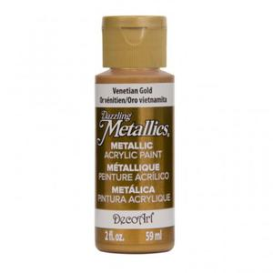 Farba metaliczna Dazzling Metallics Venetian Gold 59ml DA072 - 2850355405