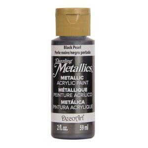 Farba metaliczna Dazzling Metallics Black Pearl 59ml DA127 - 2850355411