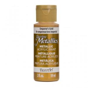 Farba metaliczna Dazzling Metallics Emperor's Gold. 59ml DA148 - 2850355412