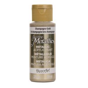 Farba metaliczna Dazzling Metallics Champagne Gold 59ml DA202 - 2850355413