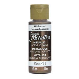 Farba metaliczna Dazzling Metallics Rich Espresso 59ml DA245 - 2850355415