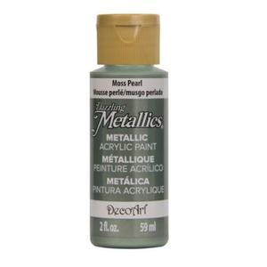 Farba metaliczna Dazzling Metallics Moss Pearl 59ml DA246 - 2850355416