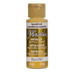 Farba metaliczna Dazzling Metallics Splendid Gold 59ml DA263 - 2850355421