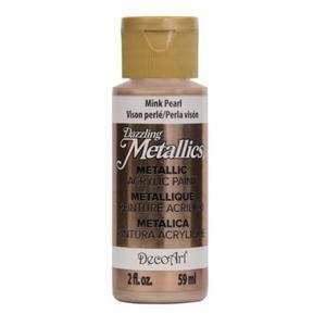 Farba metaliczna Dazzling Metallics Mink Pearl 59ml DA307 - 2850355423