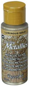 Farba metaliczna Dazzling Metallics Glaze Luminous Gold 59ml DGM02 - 2850355430