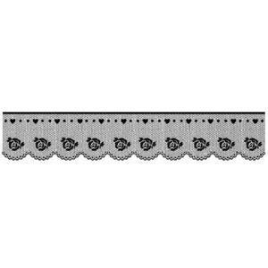 Stempel akrylowy Koronka z różyczkami WTK136 - 2850356384