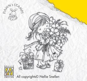 Stempel akrylowy Nellie's Choice Urodzinki małej dziewczynki I - 2850356483
