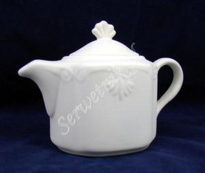 Czajnik Roman 0,5l ceramika szkliwiona w środku - 2850356494