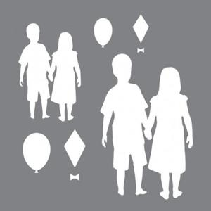 Szablon 15,2x15,2 Andy Skinner Stencils Children 2 pack ANDY 76 - 2850356778