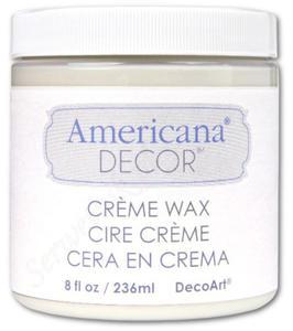 Wosk Americana Decor Creme Wax Clear 236ml ADM01 - 2850356821