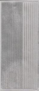 Naklejka Peel-Off A1799s Paseczki cienkie i grube srebrny - 2850357235