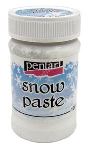 Pasta strukturalna Pentart Snow Paste śnieg w paście 100ml - 2850357373