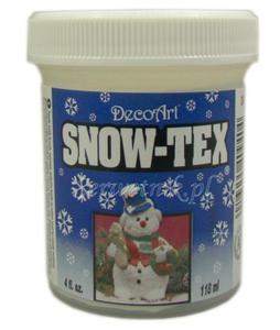 Sztuczny śnieg w paście DecoArt Snow Tex pasta strukturalna 118ml - 2850357783