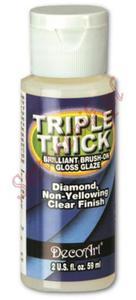 Lakier zabezpieczający DecoArt Triple Thick potrójna grubość połysk 59ml TG01 - 2850358020