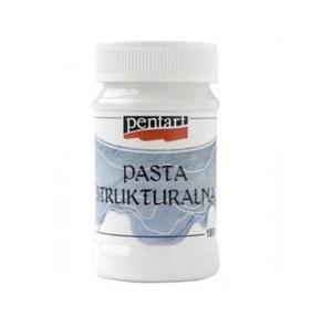 Pasta strukturalna 3D Pentart drobnoziarnista, biała 100ml - 2862528772
