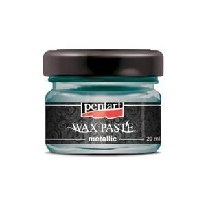 Pasta woskowa metaliczna Pentart Wax paste metallic ZIELEŃ...