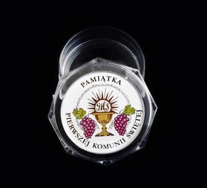 Srebrny medalik Matka Boska Częstochowska, pozłacana - 2848459136